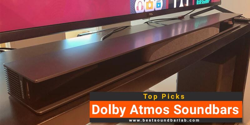 Best Dolby Atmos Soundbars Reviews
