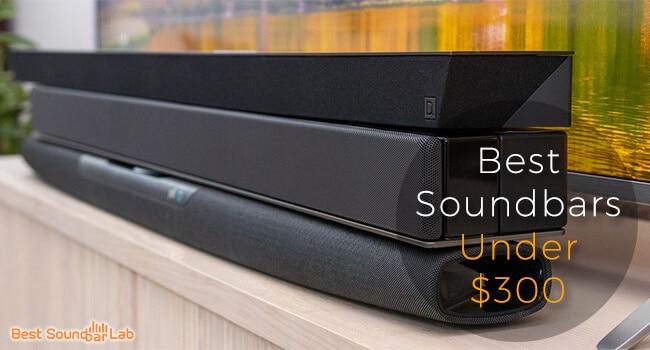Best Soundbar Under 300$ (Top 10 Picks) +Buyer's Guide 2020 1