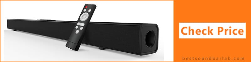 best soundbar under 100 pounds