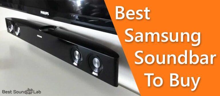 Best Samsung Soundbar