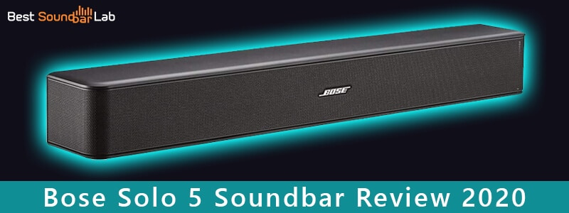 Bose Solo 5 Soundbar Review