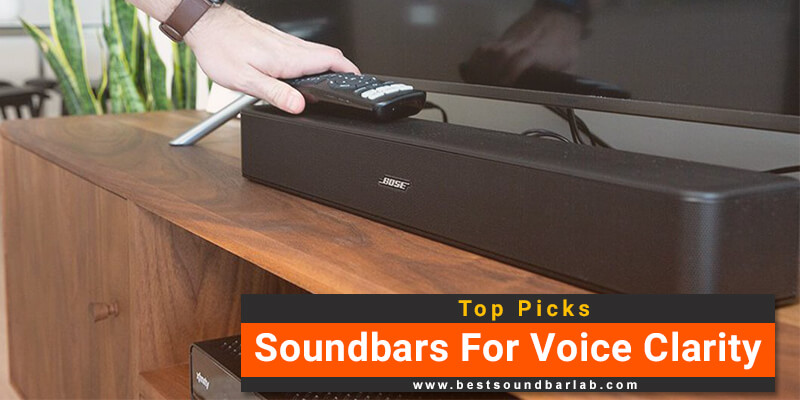 Best Soundbar For Voice Clarity