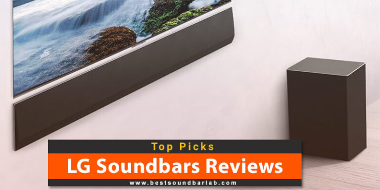 LG Soundbars Reviews (TOP 5 PICKS) To Buy in 2021