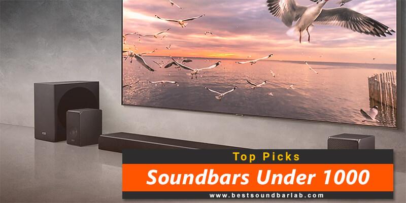 Best Soundbar Under 1000